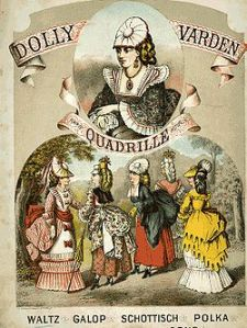 Quadrille music sheet cover