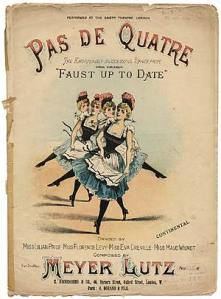 Burlesque sheet music